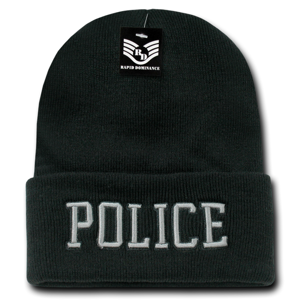 Police Pub/Safety Long Beanies