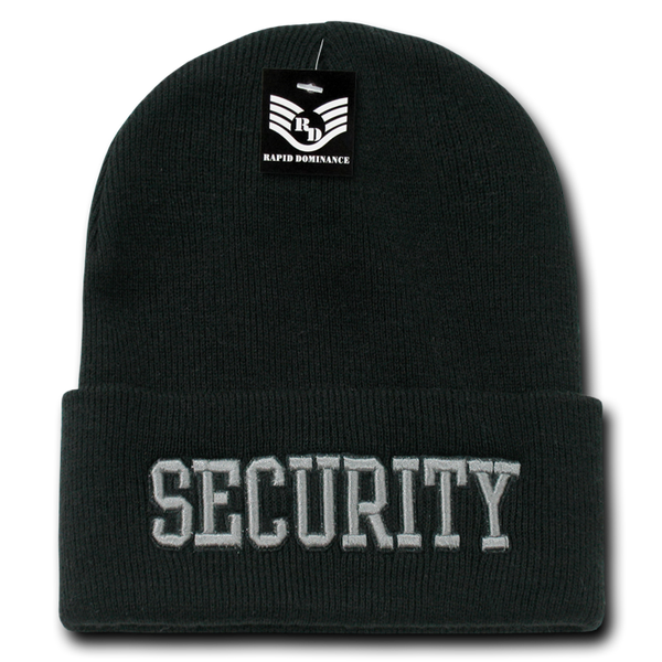 Security Pub/Safety Long Beanies