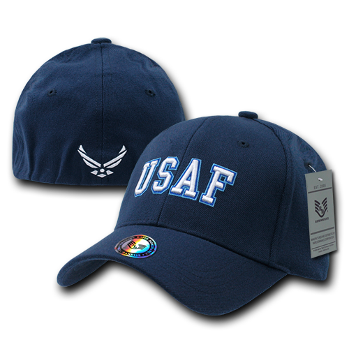 USAF Military / Law Flex Baseball Caps