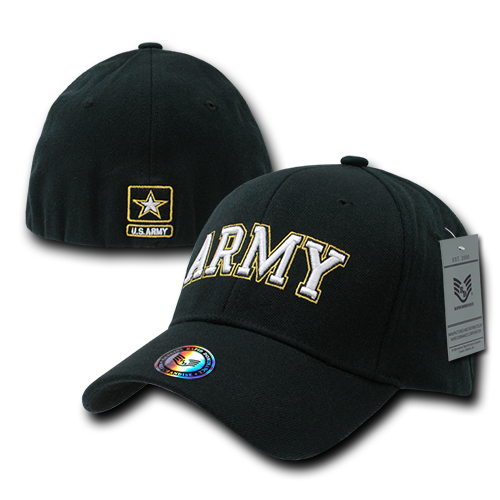 Army Military / Law Flex Baseball Caps
