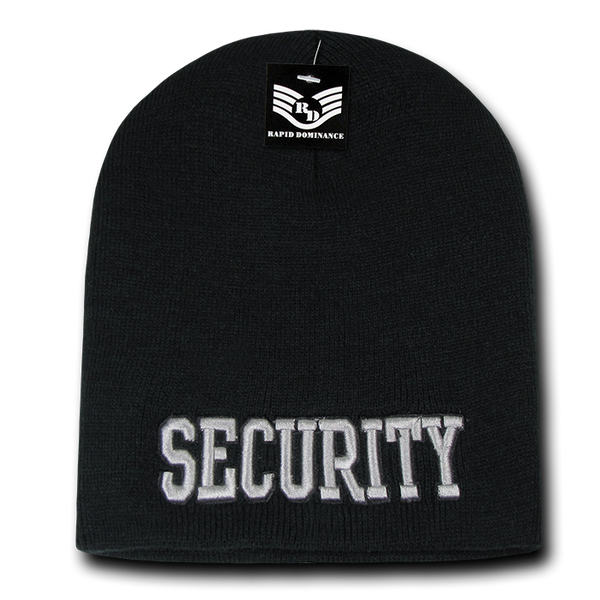 Security Public Safety Knit Caps
