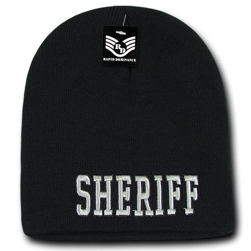 Sheriff Public Safety Knit Caps