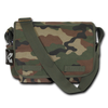 Classic Military Messenger Bag Woodland