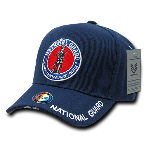 National Guard DeLuxe Milit. Caps