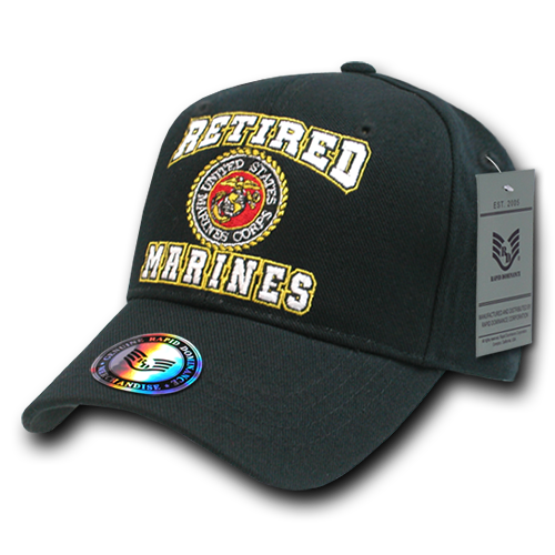 U.S. Marines 'Retired' Caps