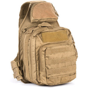 Red Rock Outdoor Recon Sling Pack- Coyote