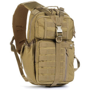 Red Rock Outdoor Rambler Sling Pack- Coyote