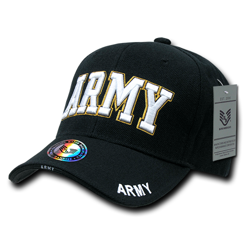 U.S. Army Text The Legend Military Caps