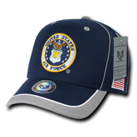 U.S. Air Force Piped Military Caps