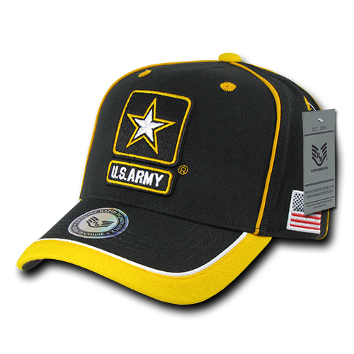 U.S. Army Piped Military Caps