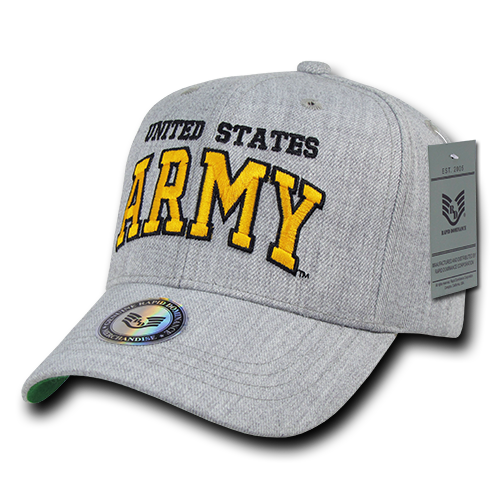 U.S. Army Heather Grey Military Caps