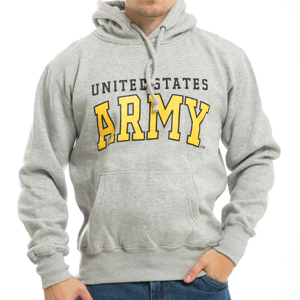 US ARMY - Grey Military Pullover Hoodies
