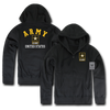US Army Full Zip Printed Fleece Hoodies