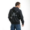 US Navy Full Zip Printed Fleece Hoodies