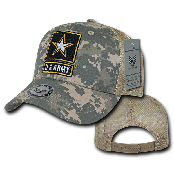 U.S. Army Back to the Basics Mesh Caps