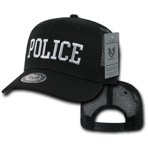 U.S. Police Back to the Basics Mesh Caps
