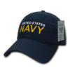 U.S. Navy Relaxed Cotton Caps