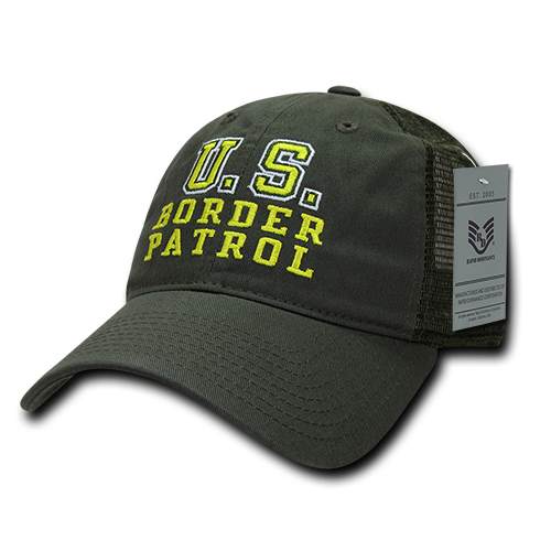 U.S. Border Patrol Relaxed Trucker Caps