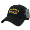 Iraqi Freedom Veteran Relaxed Trucker Caps