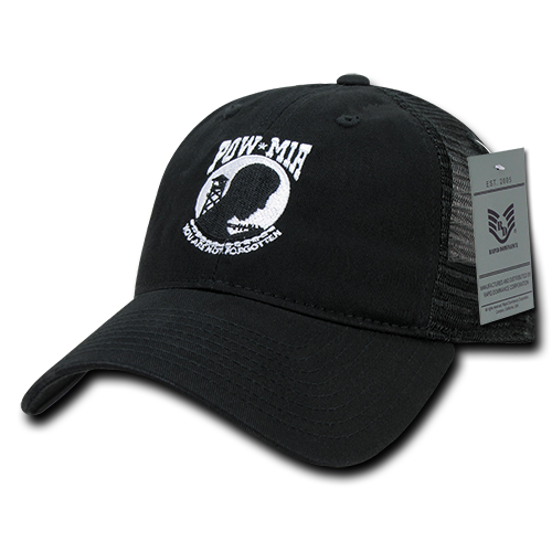 U.S. POW*MIA Relaxed Trucker Caps