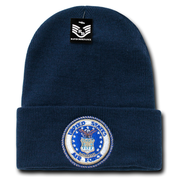 US AirForce Emb Military Long Beanies