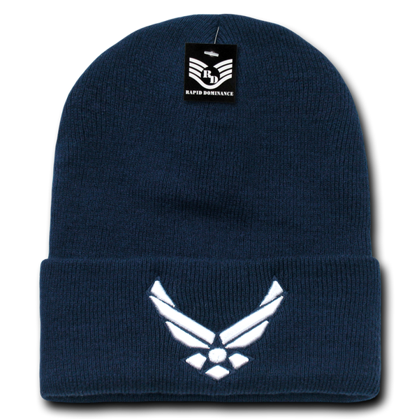 AirForce Wing Military Long Beanies
