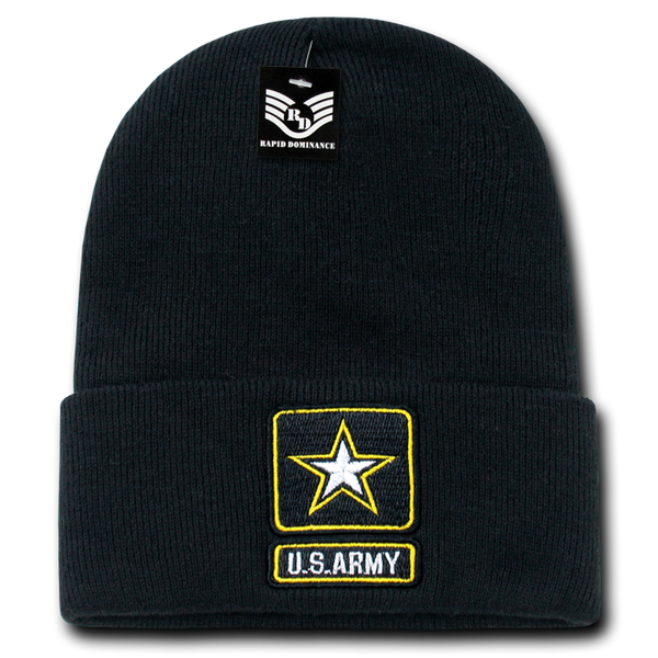 U.S. Army Star Military Long Beanies