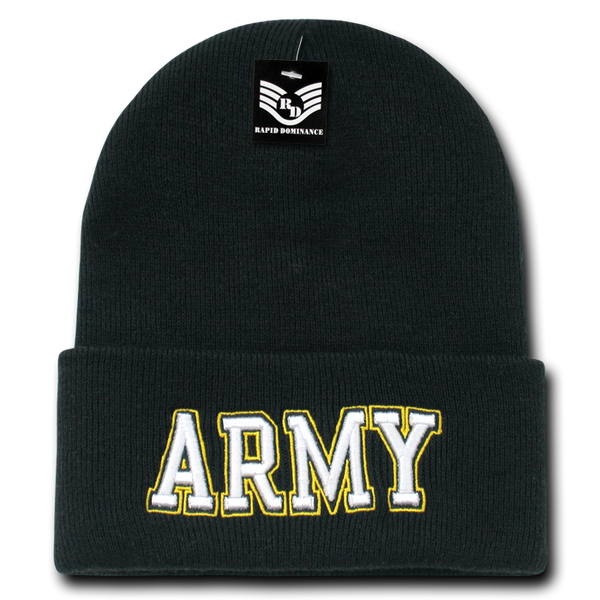 ARMY Txt Military Long Beanies