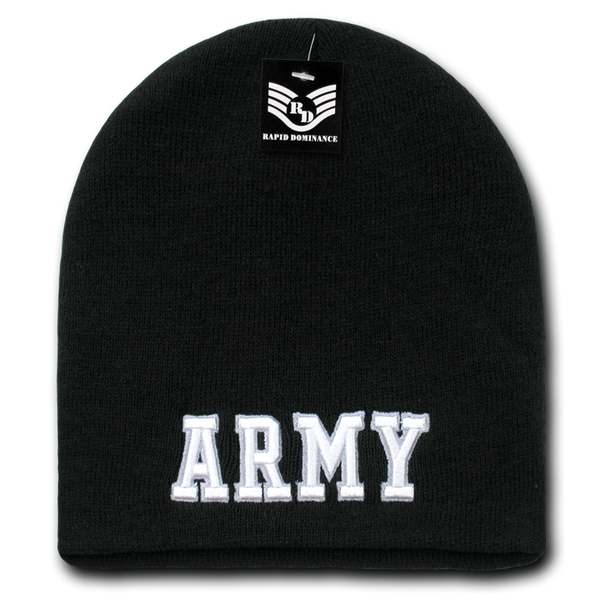 U.S. Army Text Military Work Beanies