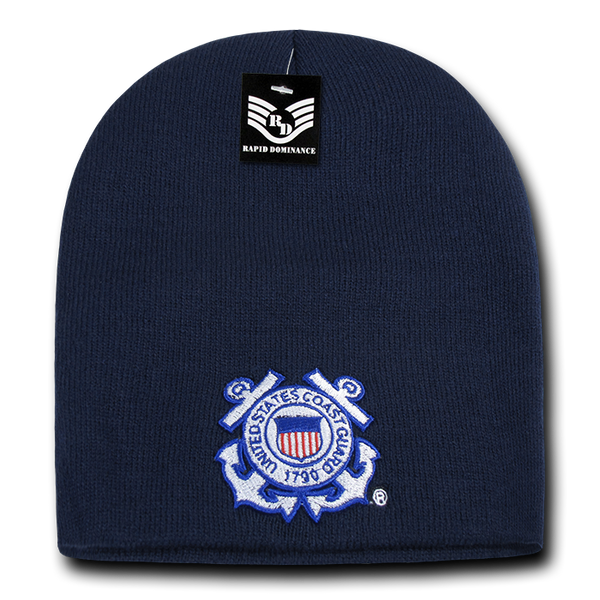 U.S. Coast Guard Logo Military Work Beanies