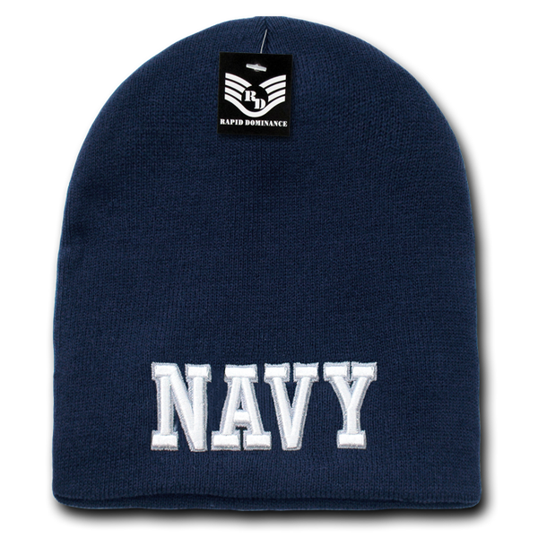 U.S. Navy Text Military Work Beanies