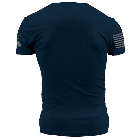 Grunt Style Printed & Squared Away Approved YOBO T-Shirt back