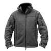 Squared Away Zip-Up Fleece Tactical Coat