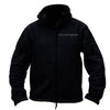Squared Away Zip Up Fleece Black