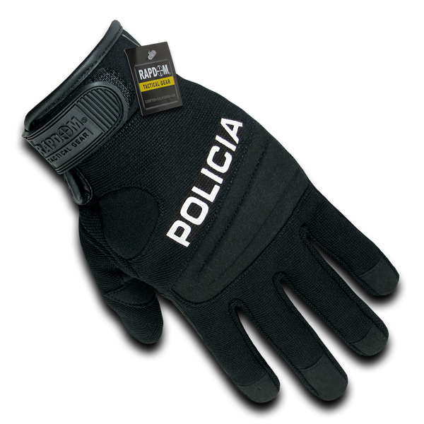 RAPDOM POLICIA Digital Leather Duty Gloves