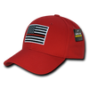 RAPDOM Thin Red Line Embroidered Operator Caps