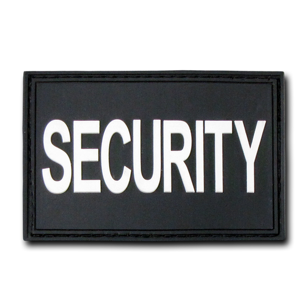 "Security Rubber Patch (3""x2"")"