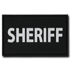"Sheriff Rubber Patch (3""x2"")"