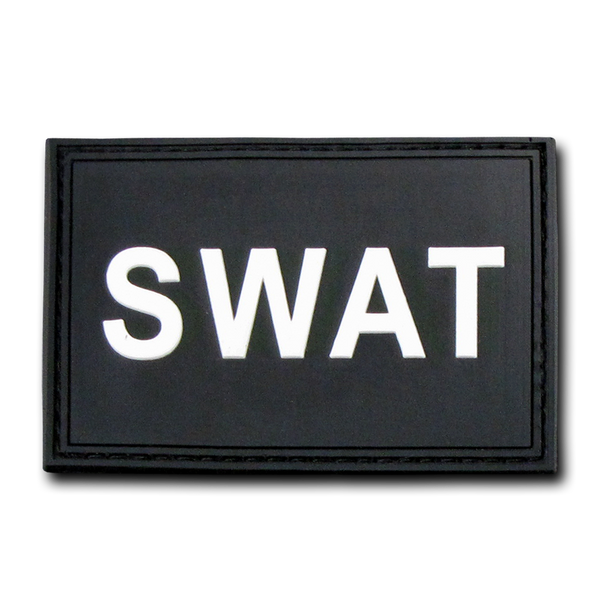 "SWAT Rubber Patch (3""x2"")"