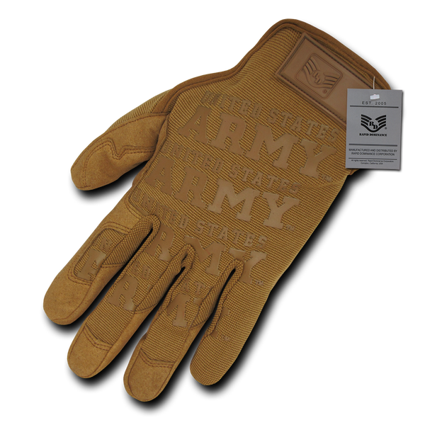US ARMY Coyote Lightweight Mechanic`s Glove