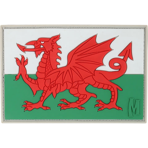 WELSH FLAG (Full Color) Patch