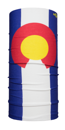 Colorado State Flag Hoo-rag