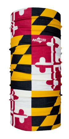 Maryland State Flag Hoo-rag