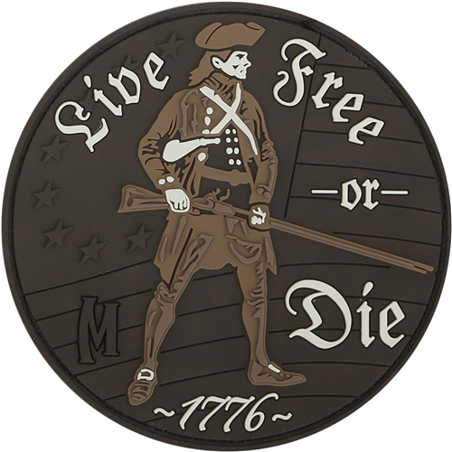 LIVE FREE OR DIE (Arid) Patch