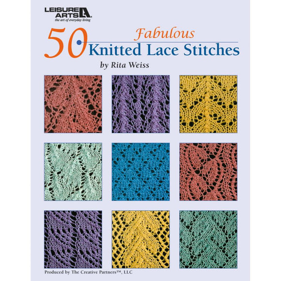 50 Fabulous Knitted Lace Stitches - Happy Ewe
