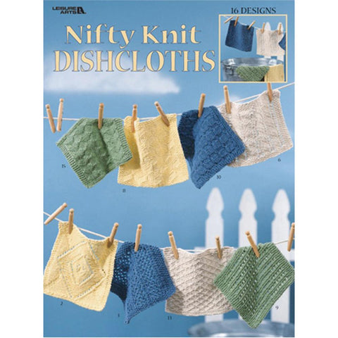 Nifty Knit Dishcloths - Happy Ewe