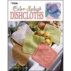 Color-Splash Dishcloths - Happy Ewe