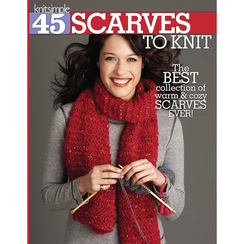 45 Scarves To Knit - Happy Ewe