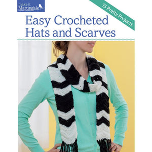 Easy Crocheted Hats & Scarves - Happy Ewe