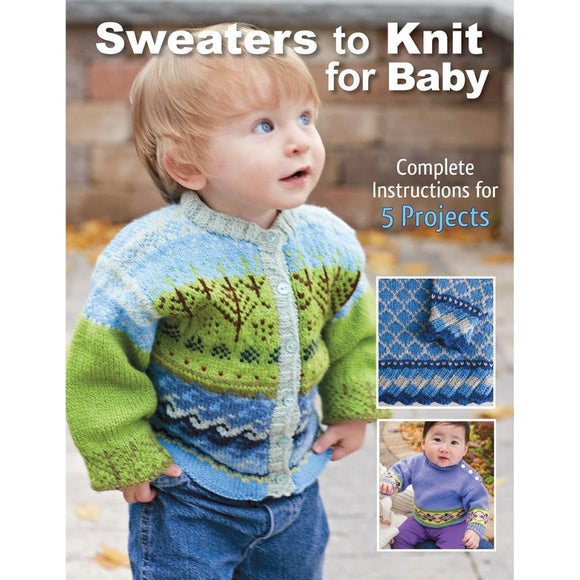 Sweaters To Knit For Baby - Happy Ewe